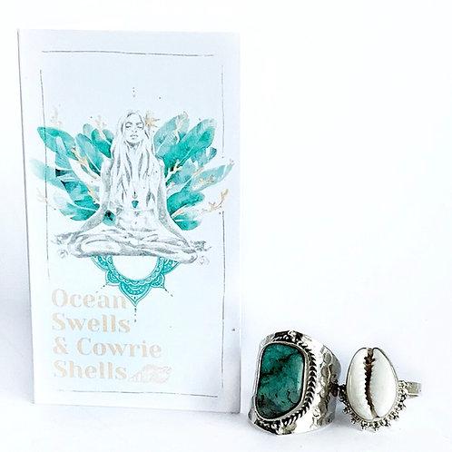 Océan Goddess Card