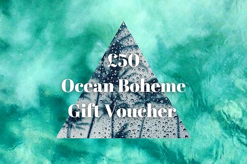 Ocean Boheme Gift Voucher