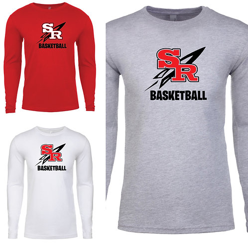 Rockets Basketball Long Sleeve (unisex & youth)