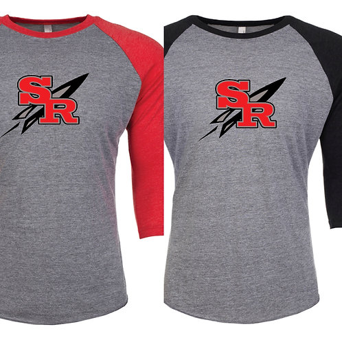Slippery Rock 3/4 Raglan (unisex)