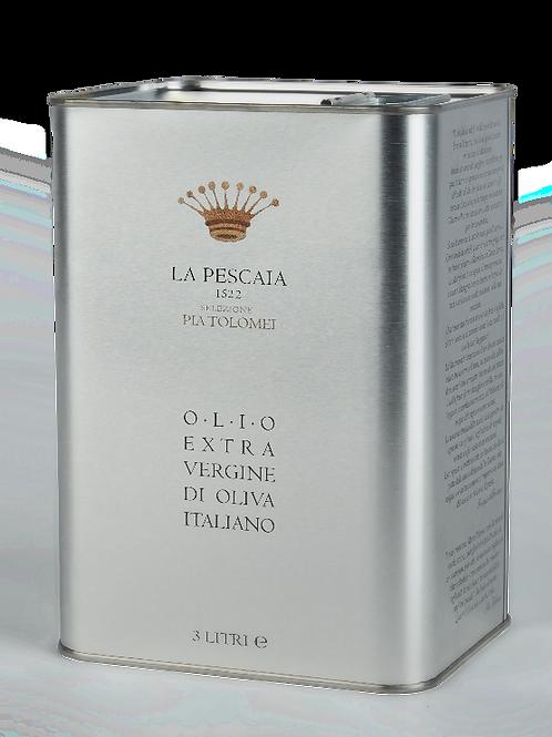 """""""Selezione Pia Tolomei """"Olio EVO Italiano - latta da 3 litri"""