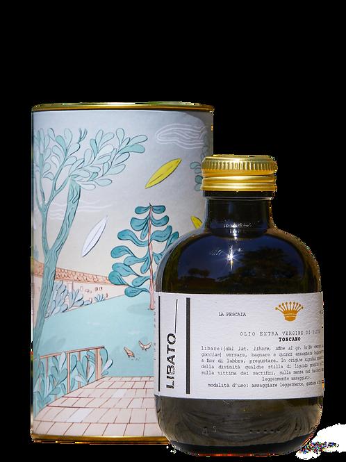 """""""Libato"""" - olio EVO selezione gourmet IGP Toscano - bottiglia da 250ml"""