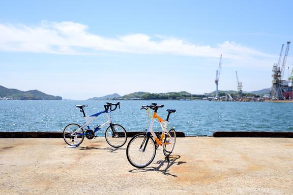 NAGIと尾道の海