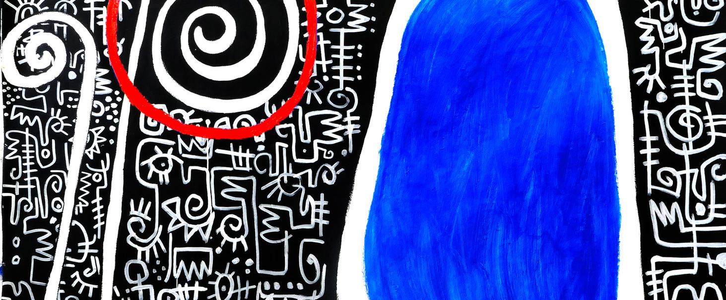 Victor Ekpuk-Between Blue and Me.jpg