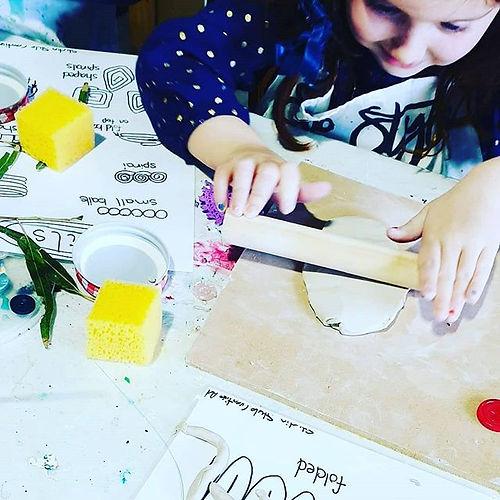 Easter school holiday creative workshops