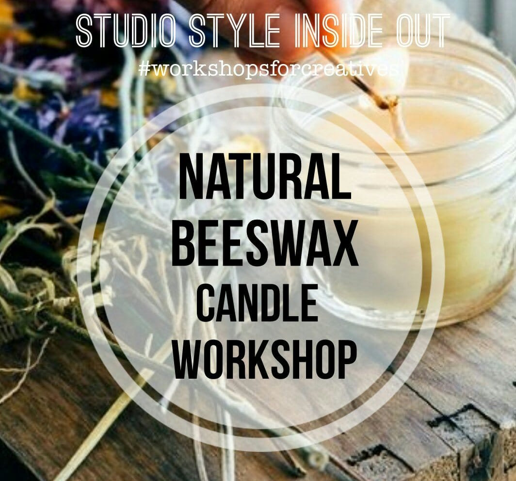 Natural Beeswax Candle Workshop