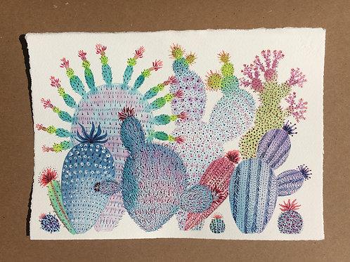 Cactus Painting 1