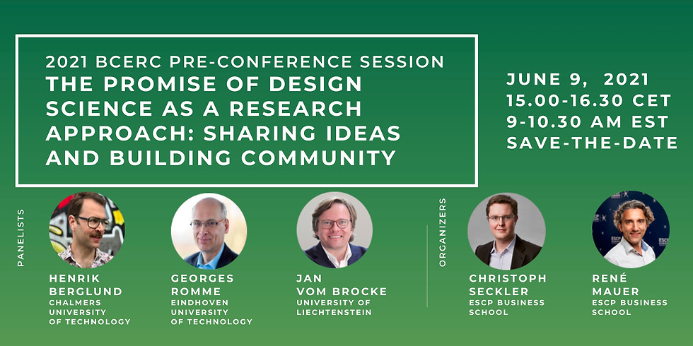 The Promise of Design Science as a Research Approach: Sharing Ideas and Building Community