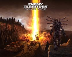 Quake Wars E3 poster