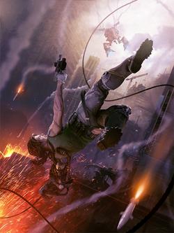 Bionic commando magazine cover