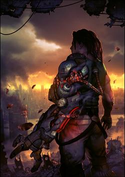 bionic commando magazine cover 2