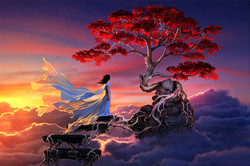 sakura in the sky