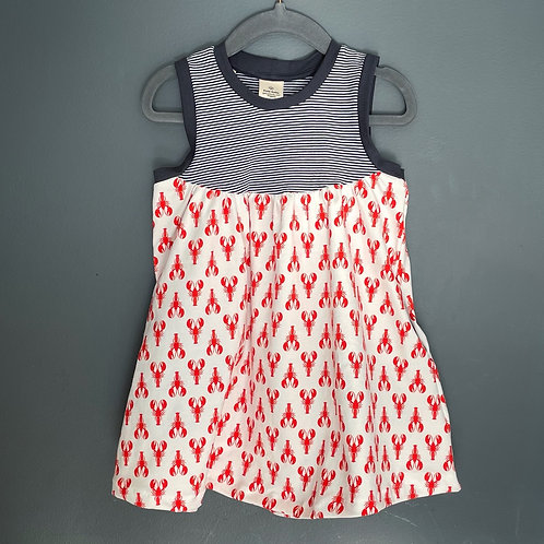 Lobster grow with me Pocket Dress