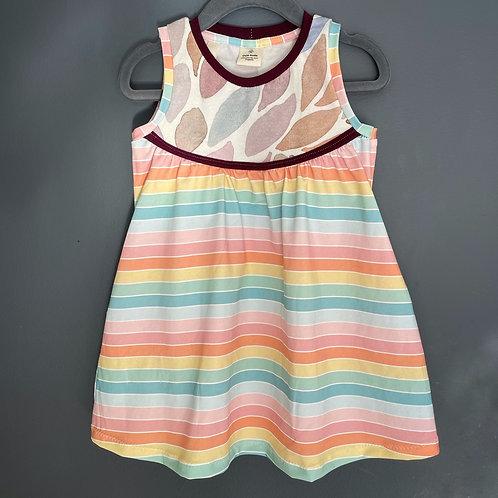 Rainbow grow with me Pocket Dress