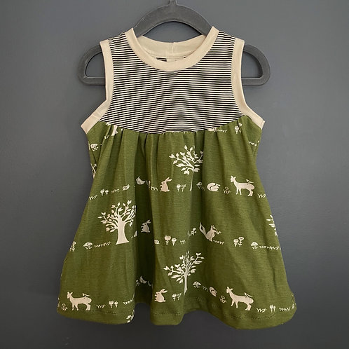 Woodland pals grow with me Pocket Dress