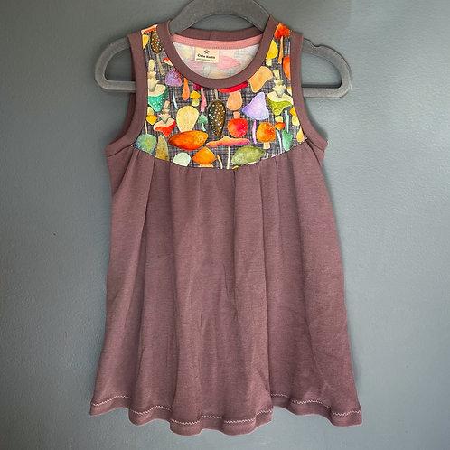 The Pocket Dress - Mushrooms