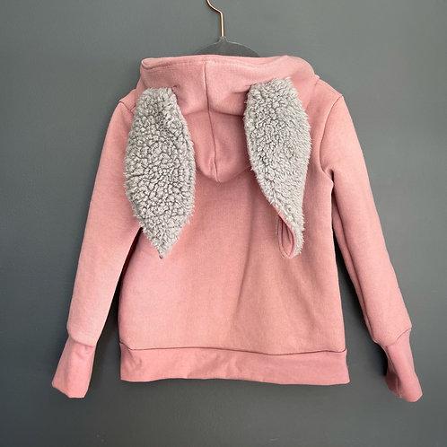 Bunny hoodie size 3