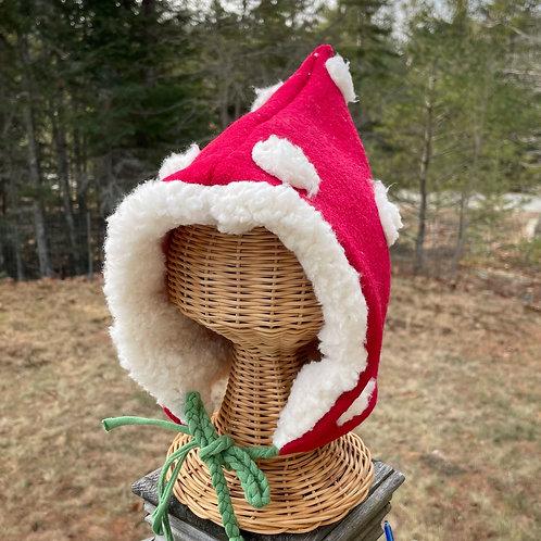 Mushroom pixi hat size Baby - Adult starting at $36
