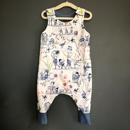 Wimsy music animals romper