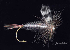 Old Adams Fishing Fly