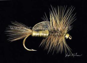 Yellow Humpy Fishing Fly