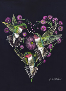 Hummingbird Heart #2