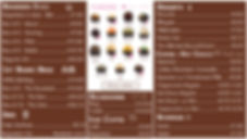 OMG Brigadeiro Menu with Flavors and Prices