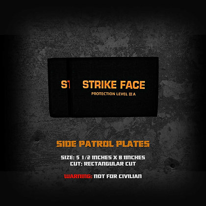 Patrol Bulletproof plate GEN2 (Side)