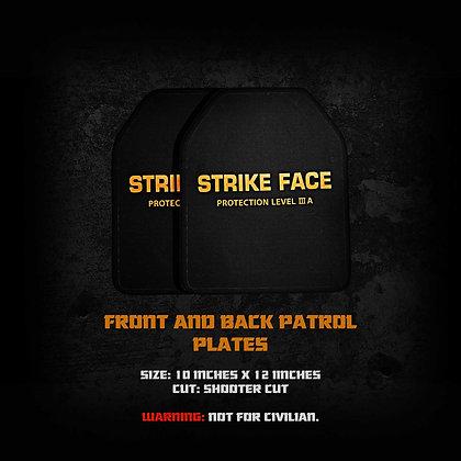 Patrol Bulletproof plate GEN 2(Front and back)