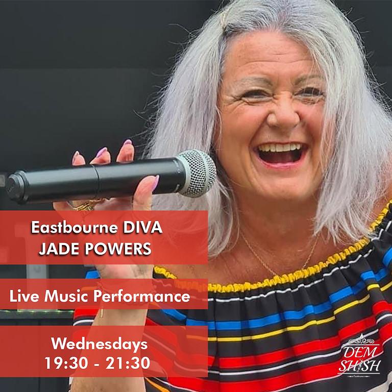 Jade Powers (Eastbourne Diva) - Live Music Performance