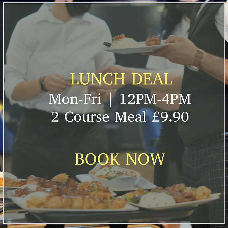 Lunch Deal £9.90