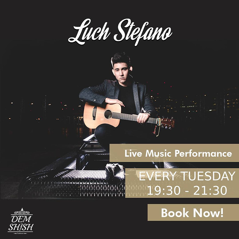 Luch Stefano - Live Music Performance