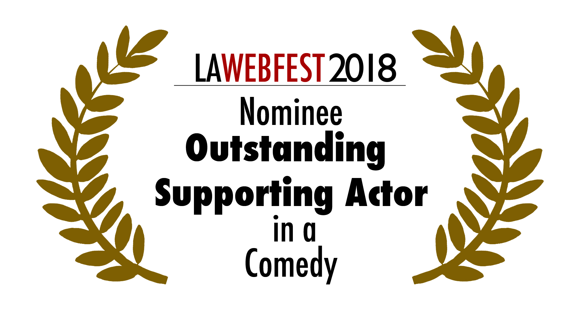 2018 Outstanding Supporting  Actor
