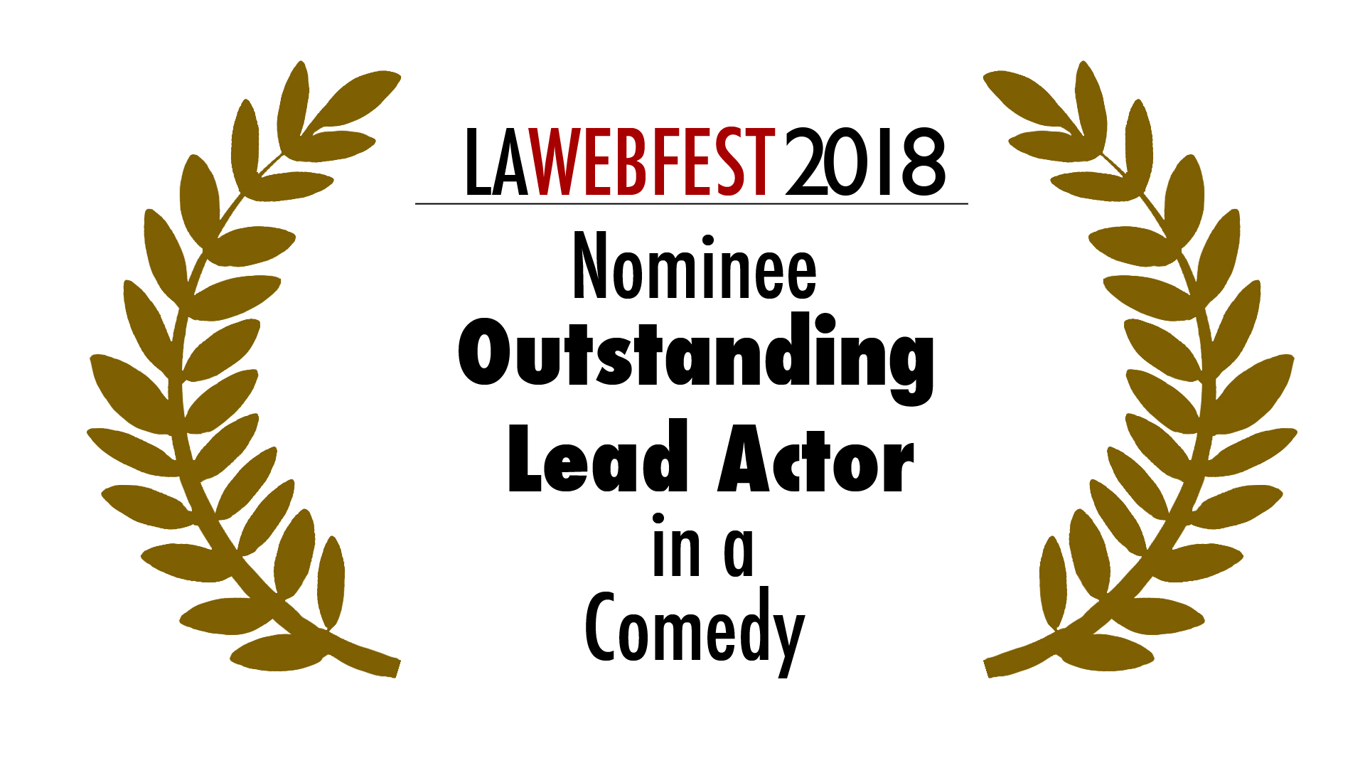 2018 Outstanding Lead  Actor.COMEDY