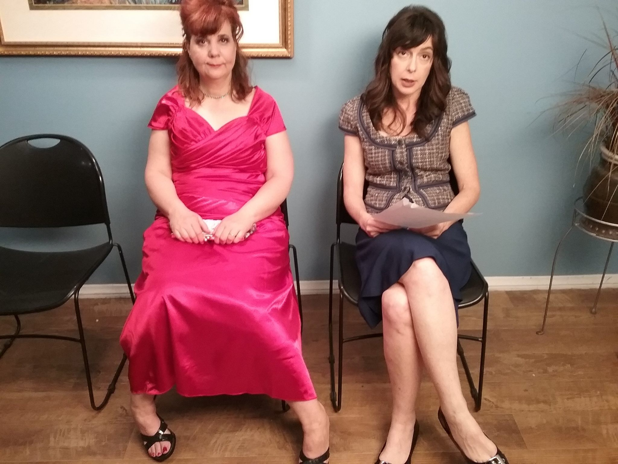 Jane Spot & Geraldine Job Interview
