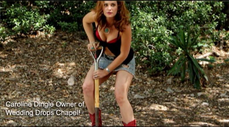 Caroline Dingle shovel