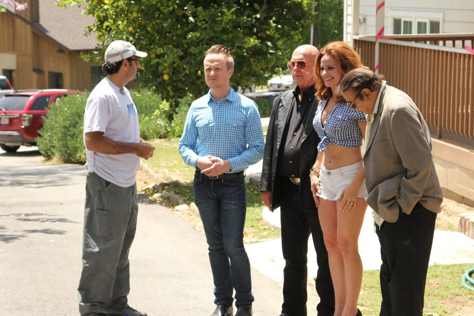 Michael with cast RW