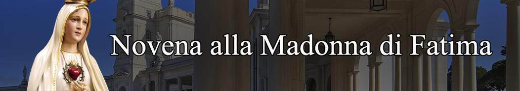 Novena alla Madonna di Fatima - banner.p