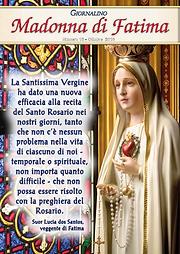 Giornalino Madonna di Fatima ottobre 201