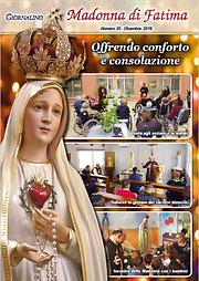 Giornalino Madonna di Fatima - dicembre