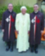 Benedetto XVI riceve gli Araldi del Vang