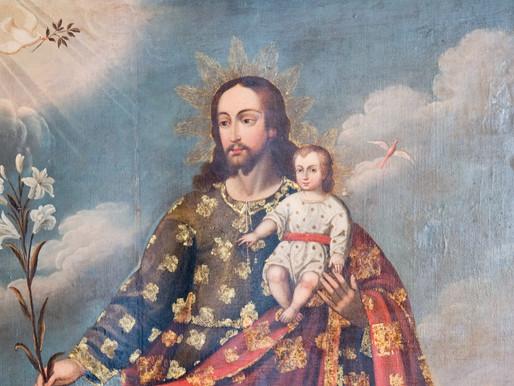 San Giuseppe e il trionfo del Cuore Immacolato di Maria.