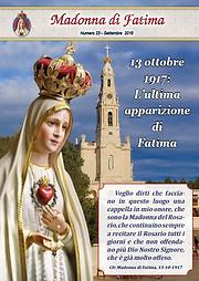 Giornalino Madonna di Fatima settembre 2