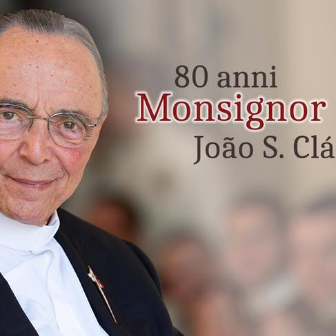 Gli 80 anni di Mons. João Scognamiglio Clá Dias
