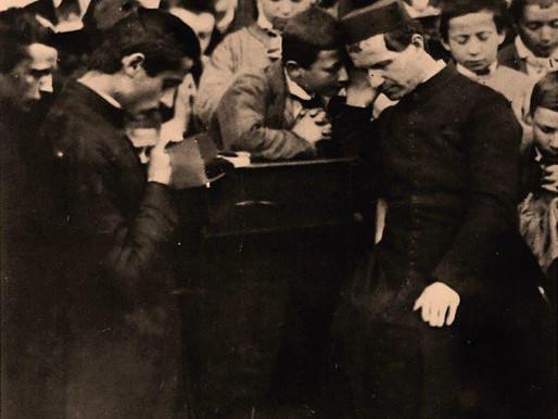 San Giovanni Bosco e l'epidemia di colera del 1854.