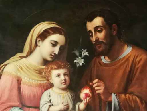 Consacrazione alla Sacra Famiglia.