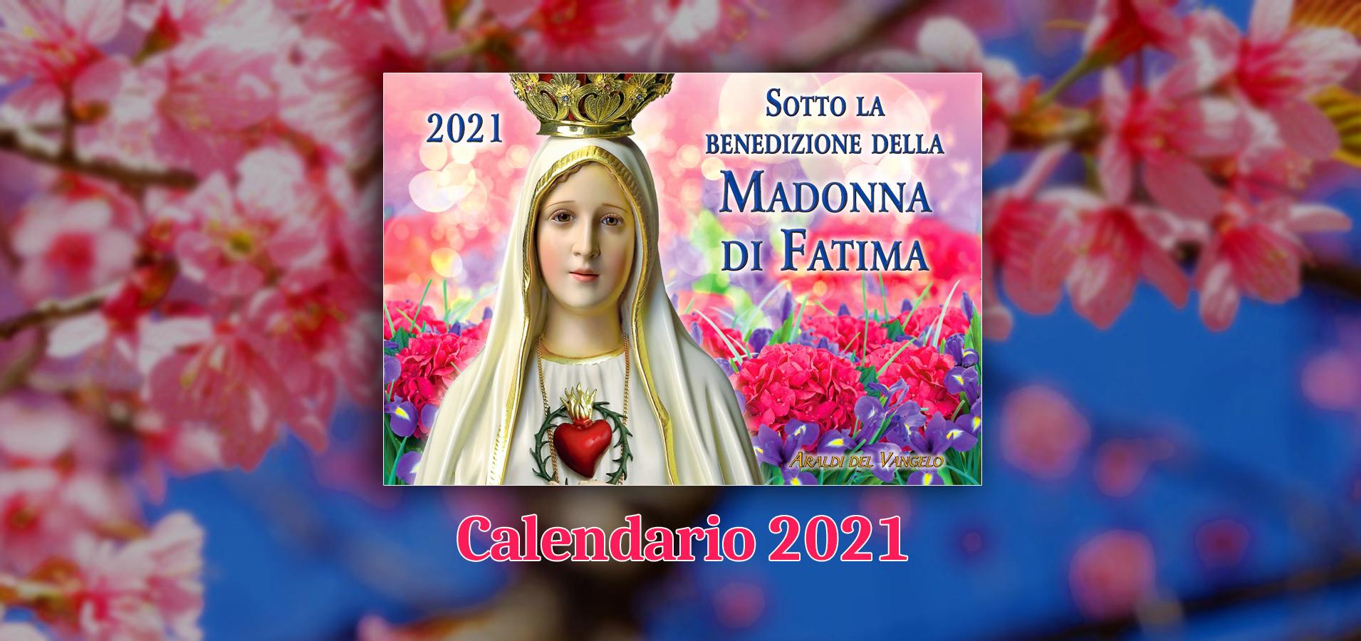 Calendario 2021 banner home