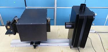 stanowisko do badan spektrofluorymetrycz