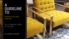 A GUIDLINE TO: SHOPPING FOR CONDO FURNITURE