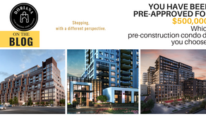 Shopping for a PreConstruction Condo - With a different perspective!